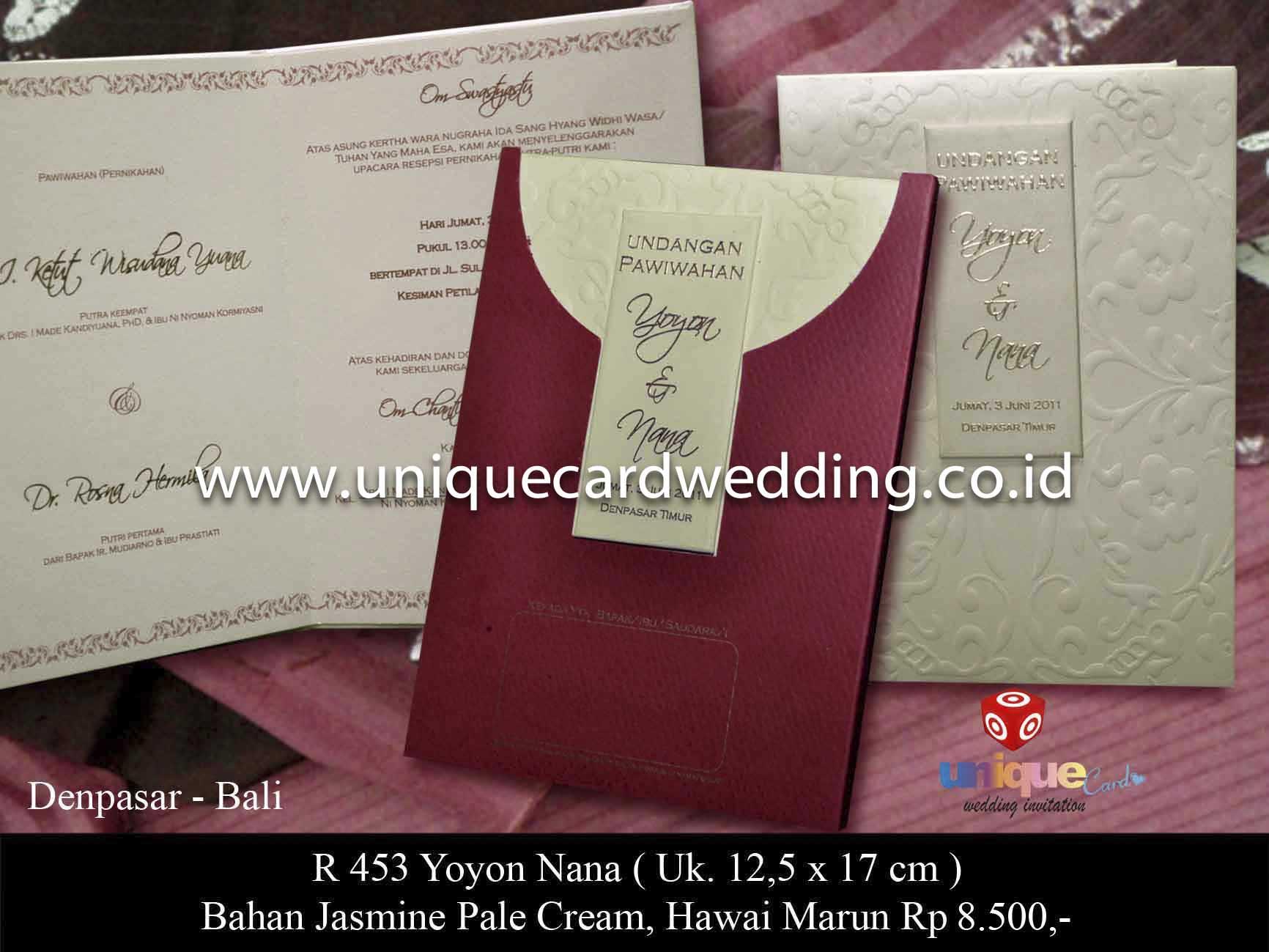 WEDDING INVITATION – Pusat Kartu Undangan